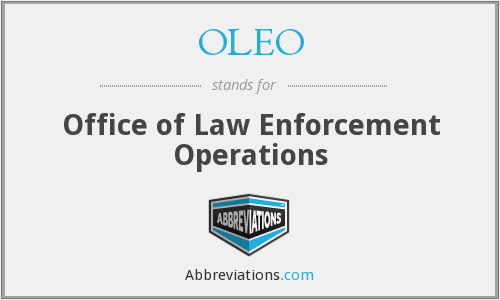 OLEO - Office of Law Enforcement Operations