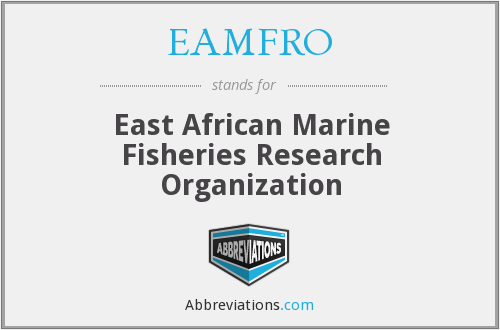 What does EAMFRO stand for?