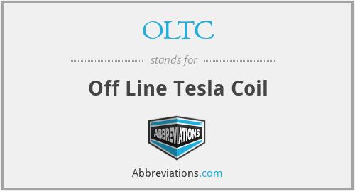 OLTC - Off Line Tesla Coil