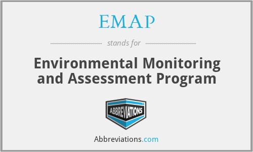 EMAP - Environmental Monitoring and Assessment Program