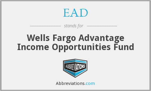 EAD - Wells Fargo Advantage Income Opportunities Fund