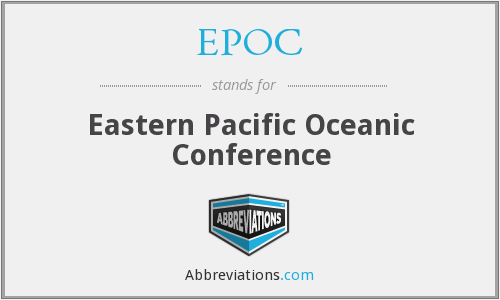 EPOC - Eastern Pacific Oceanic Conference