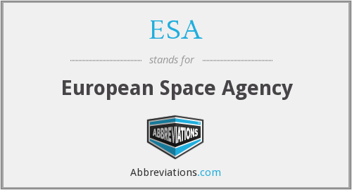 What does ESA stand for?