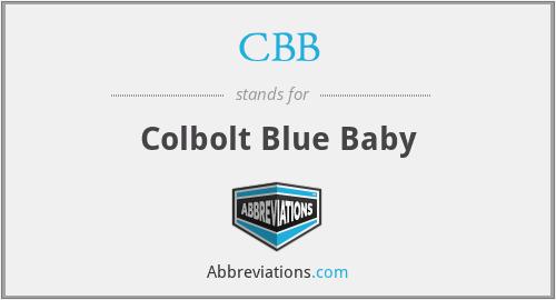 CBB - Colbolt Blue Baby