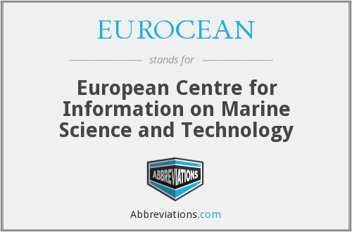 What does EUROCEAN stand for?