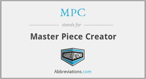 MPC - Master Piece Creator