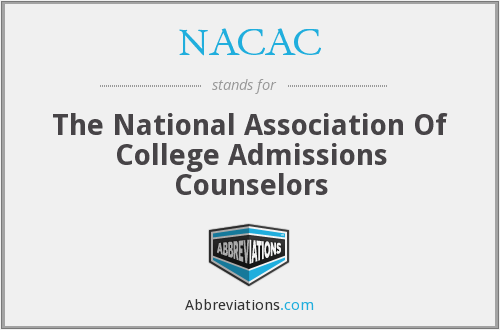 NACAC - The National Association Of College Admissions Counselors