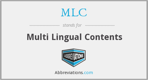 What does MLC stand for?