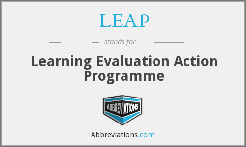 LEAP - Learning Evaluation Action Programme