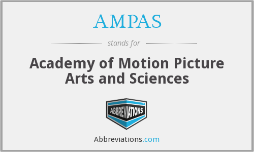 What does AMPAS stand for?