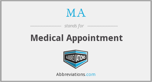 MA - Medical Appointment