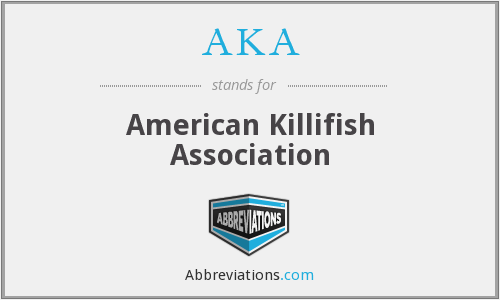 AKA - American Killifish Association