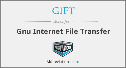 GIFT - Gnu Internet File Transfer