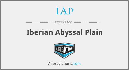 IAP - Iberian Abyssal Plain