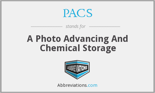PACS - A Photo Advancing And Chemical Storage