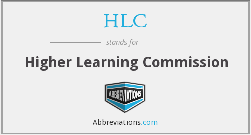 HLC - Higher Learning Commission