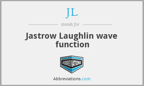 JL - Jastrow Laughlin wave function