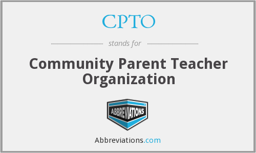 CPTO - Community Parent Teacher Organization