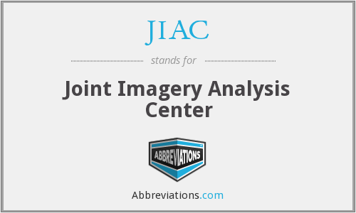 JIAC - Joint Imagery Analysis Center