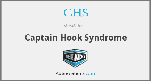 CHS - Captain Hook Syndrome