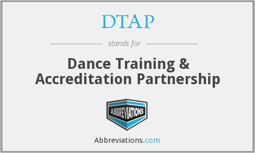 DTAP - Dance Training & Accreditation Partnership