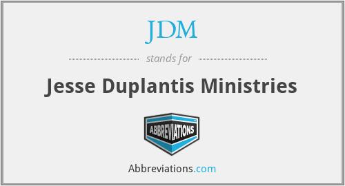 JDM - Jesse Duplantis Ministries