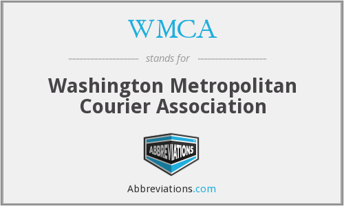 WMCA - Washington Metropolitan Courier Association