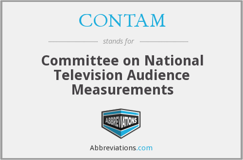 CONTAM - Committee on National Television Audience Measurements