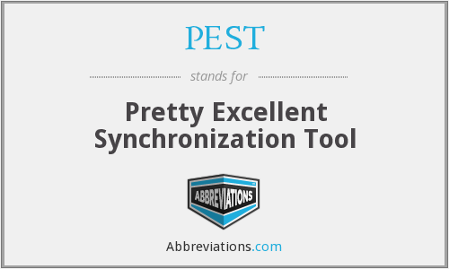 PEST - Pretty Excellent Synchronization Tool