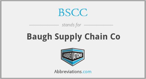 BSCC - Baugh Supply Chain Co