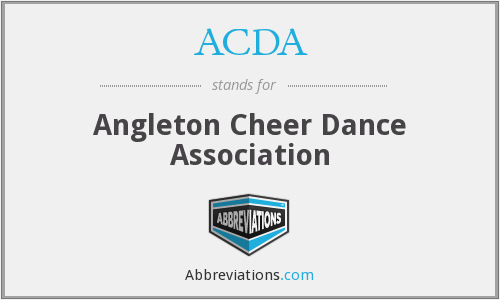 ACDA - Angleton Cheer Dance Association