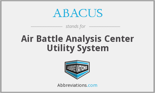ABACUS - Air Battle Analysis Center Utility System