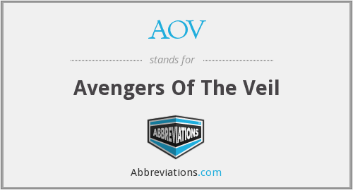 What does AOV stand for?