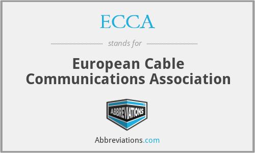 ECCA - European Cable Communications Association