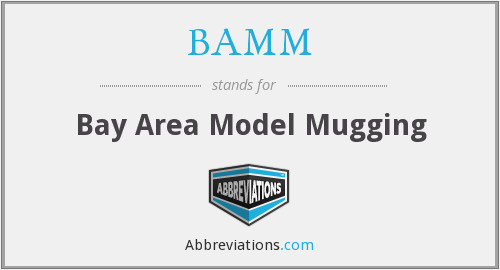 BAMM - Bay Area Model Mugging