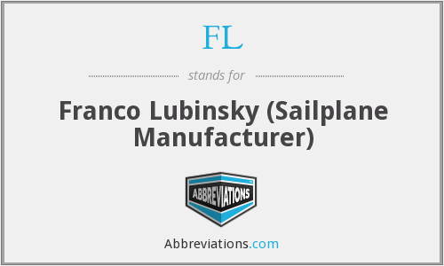FL - Franco Lubinsky (Sailplane Manufacturer)