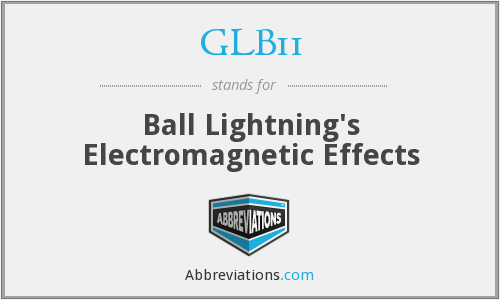 GLB11 - Ball Lightning's Electromagnetic Effects