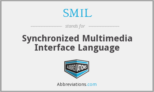 SMIL - Synchronized Multimedia Interface Language