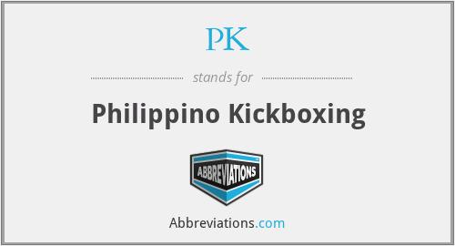 PK - Philippino Kickboxing