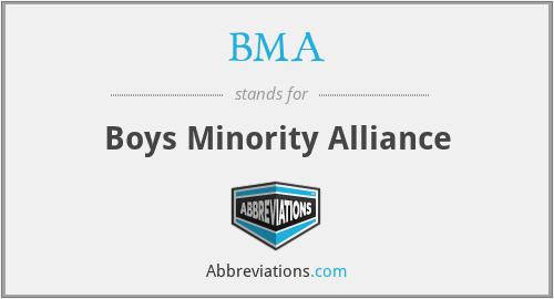 BMA - Boys Minority Alliance