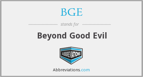BGE - Beyond Good Evil