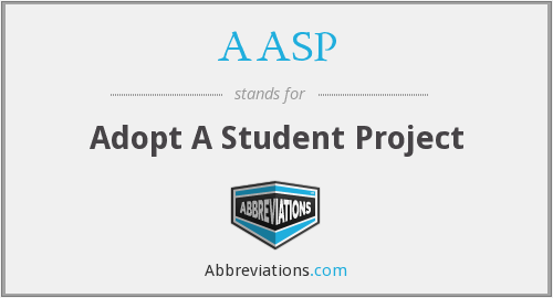 AASP - Adopt A Student Project