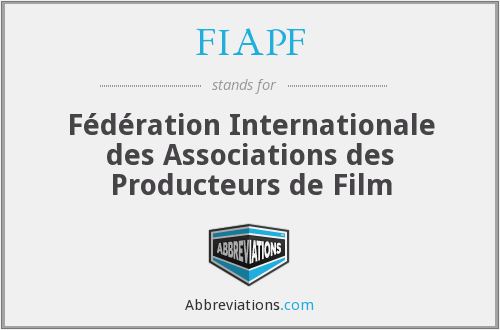 What does FIAPF stand for?