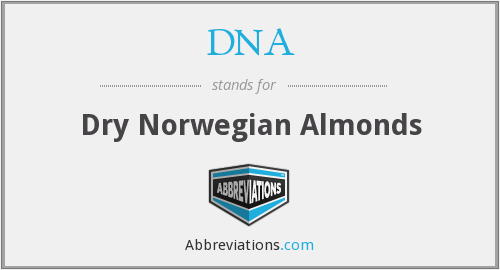DNA - Dry Norwegian Almonds