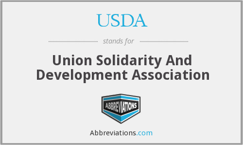 USDA - Union Solidarity And Development Association