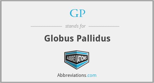 GP - Globus Pallidus