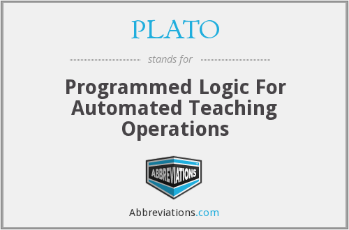 PLATO - Programmed Logic For Automated Teaching Operations