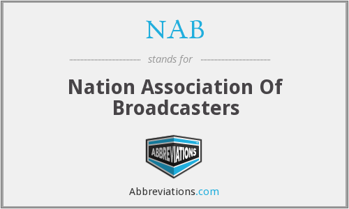 NAB - Nation Association Of Broadcasters