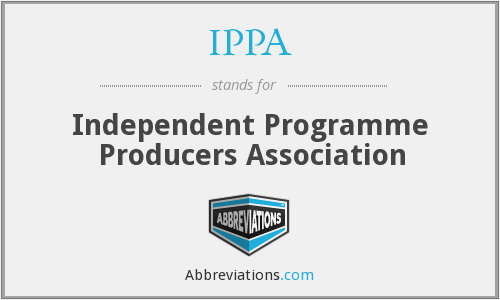 IPPA - Independent Programme Producers Association