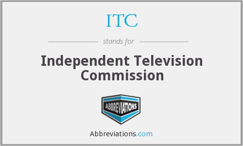 ITC - Independent Television Commission